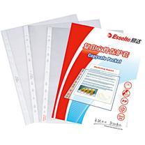 易达 Esselte 11孔文件保护套 656133 A4 (透明色) 100个/盒