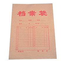 国产 牛皮纸档案袋 ZB-18 A4  50个/包 (大包装)