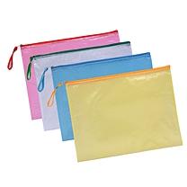 远生 Usign 网格拉链袋 US-A54 A5 (红色、蓝色、黄色、绿色) (颜色随机)