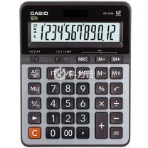 卡西欧 CASIO 12位数字显示办公计算器 GX-120B 大号 10个/盒