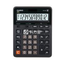 卡西欧 CASIO 12位数字显示办公计算器 GX-12B 大号  10个/盒 (新老包装更替)