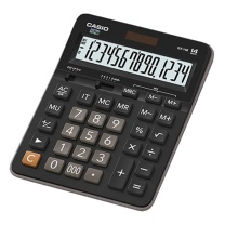 卡西欧 CASIO 12位数字显示办公计算器 GX-14B 大号