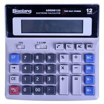晨光 M&G 标朗 12位数字显示桌面型计算器 ADG98133 (银色) 10台/盒