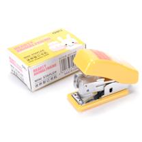 得力 deli 迷你型订书机 0303 12页 (白色、蓝色、粉色) 24个/盒 (颜色随机)