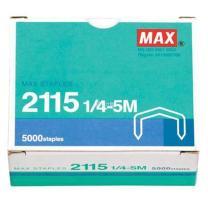 美克司 MAX 统一订书针 2115 1/4-5M 5000枚/盒 (适用于订书机HD-88/88R)