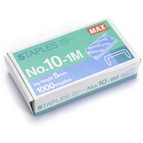 美克司 MAX 10#订书针 NO.10-1M  1000枚/盒 20盒/包 (中包装)