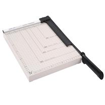 得力 deli 钢制切纸刀 8014 A4 可裁15张 (白色) 48把/箱