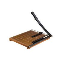 得力 deli 木制切纸刀 8002 A3 可裁15张 (棕色) 10把/中箱