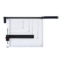 得力 deli 钢质切纸机/切纸刀/裁纸刀/裁纸机 8014 300mm*250mm (可切A4纸)