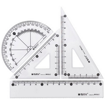晨光 M&G 办公型套尺 HARL0133  24套/盒