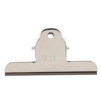 得力 deli 山形铁票夹 9532 102mm (银色) 3个/包
