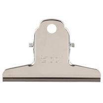 得力 deli 山形铁票夹 9533 76mm (银色) 4个/包