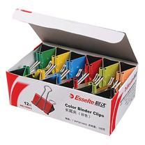易达 Esselte 彩色长尾夹 10325 25mm 12个/盒