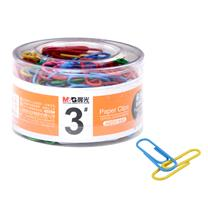 晨光 M&G 3#PVC筒装彩色回形针 ABS91698 28mm 160枚/筒
