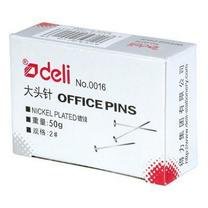 得力 deli 大头针 0016 24mm 50g/盒 20盒/中箱