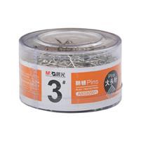 晨光 M&G 3#大头针 ABS92601 26mm 100g/筒  48筒/包 192筒/箱