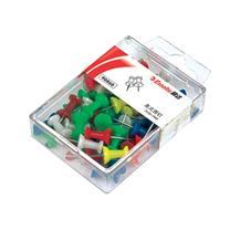 易达 Esselte 美式图钉 90860 (混色) 50枚/盒 (颜色随机)
