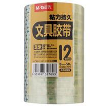 晨光 M&G 透明胶带 AJD97372 8mm*50Y  12卷/筒