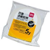 得力 deli 双面泡棉胶带 30416 36mm*5Y  1卷/袋 12袋/盒