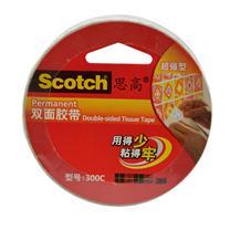3M 思高 高效型双面胶带 300c 18mm*9.5m  8卷/包