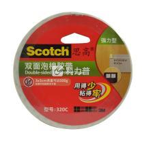 3M 思高 双面泡棉胶带 320c 12mm*5.5m 12卷/包