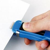 齐心 Comix 推夹器 B3395 (蓝色) 12个/盒