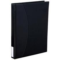齐心 Comix 商务名片册 A1610 二段四格 240名 (黑色) 12本/盒