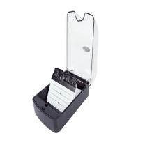 益而高 Eagle 透明名片盒 808S 350名 (黑色) 6个/盒