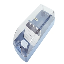 益而高 Eagle 透明名片盒 808L 650名 (蓝色) 6个/盒
