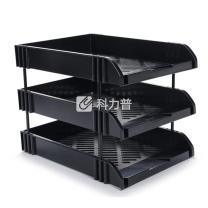 国产 富强/永益 三层文件盘 FQ-438A/YY-438A/ZS-新6138 (黑色)