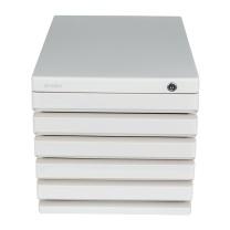 晨光 M&G 五层带锁文件柜 ADM9529816 (灰色)