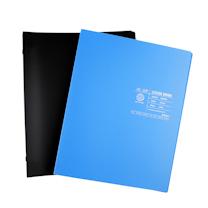 晨光 M&G 活页本 APY8D328 A5 20孔 (蓝色、黑色) 60页/本 20本/封 (颜色随机)