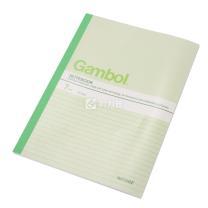 渡边 Gambol 无线装订本 G6407 B5 (混色) 40页/本 12本/封 (颜色随机)