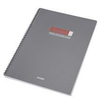 渡边 Gambol PP面双螺旋装订笔记本 DS4000 A4 (黑色) 80页/本