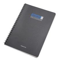 渡边 Gambol PP面双螺旋装订笔记本 DS5000 A5 (黑色) 60页/本