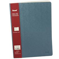 前通 fornt 加厚 记事本 DV69-B501 B5 (蓝色) 152页/本 (荔枝纹)