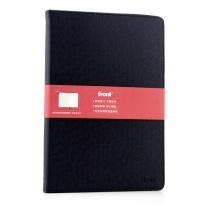 前通 fornt 硬面 记事本 DV64-B501 B5 (黑色) 100页/本 (交叉纹)