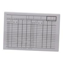 立信 存货计数卡吊卡 272-50 50K  50页/束 (仅限上海可售)
