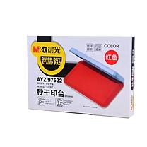 晨光 M&G 印台 AYZ97522A (红色)