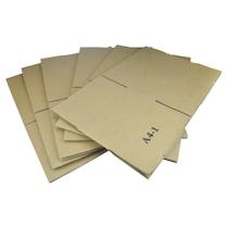国产 A4尺寸单瓦楞纸箱 A4-1 外径340*248*118mm 10个/捆 (高度118mm)