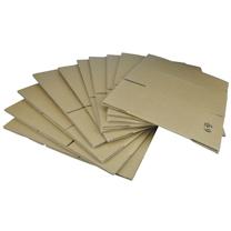 国产 6号邮政单瓦楞纸箱 B型 外径260*150*180mm 10个/捆