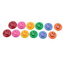 亿裕 笑脸卡通磁粒 6012 30mm (彩色) 12个/卡