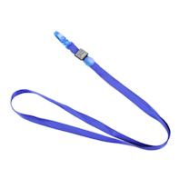 科记 KEJEA 橄榄扣证件卡挂绳 K-1002 10*900mm (蓝色) 100根/包