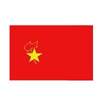 旗旺 大队旗 DD-Q02 (红色) 含旗杆