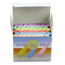 福牌 六角彩色粉笔 48支/盒