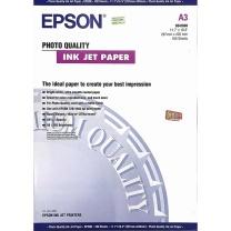 爱普生 EPSON 照片质量喷墨打印纸 S041068 A3 102g  100张/包 (DC晨光链接)