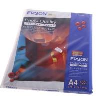 爱普生 EPSON 照片质量喷墨打印纸 S041786 S041061 A4 102g  100张/包 (DC晨光链接)