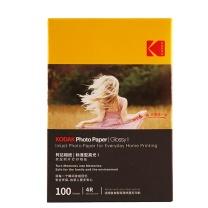 柯达 Kodak 高光相纸 K065 4R 200g  100张/包