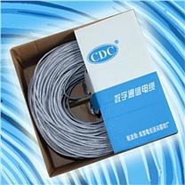 普天 Potevio 电缆线 200m (深蓝色) 天纪超5类4对UTP电缆