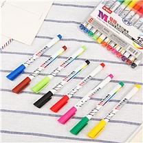 晨光 M&G 便携易擦彩色白板笔(8色装) AWMY2301 (8色)